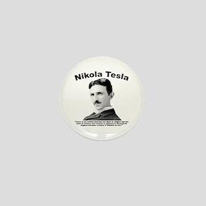 Tesla: Religion Mini Button