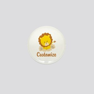 Custom Baby Lion Mini Button