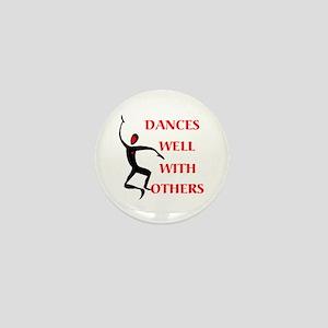 DANCES WELL Mini Button
