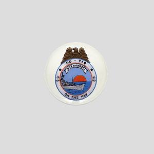 USS HAMNER Mini Button