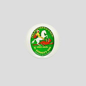 Ethiopia Beer Label 1 Mini Button