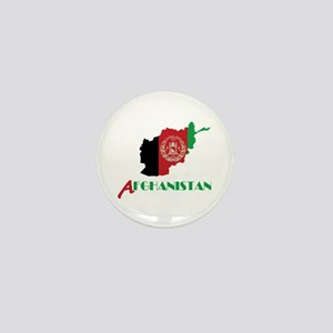 Map of Afghanistan Mini Button