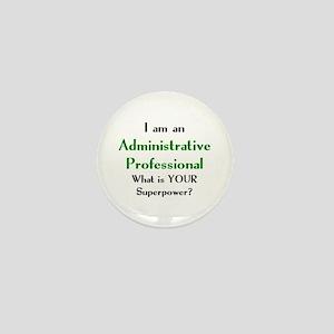administrative professional Mini Button