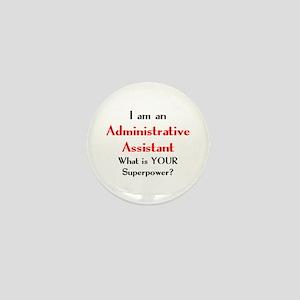 administrative assistant Mini Button