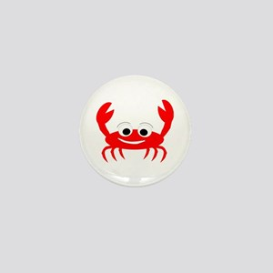 Crab Design Mini Button