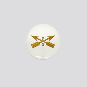 3rd Bn 7th SFG Branch wo Txt Mini Button