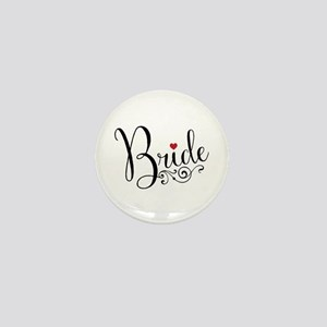 Elegant Bride Mini Button