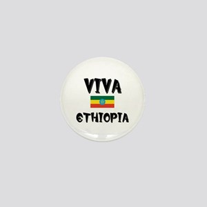 Viva Ethiopia Mini Button