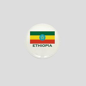 Ethiopia Flag Merchandise Mini Button