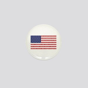 2nd Amendment Flag Mini Button