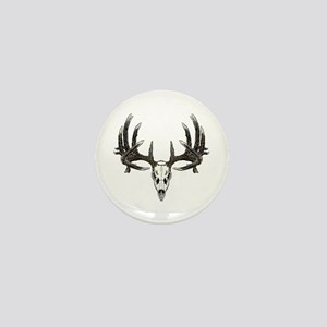 Big whitetail buck Mini Button