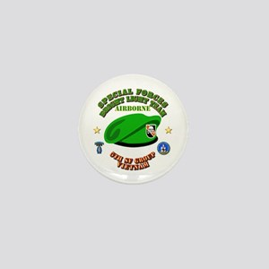 SOF - Bright Light Team Beret Mini Button