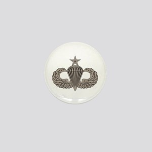 Sr. Parachutist Mini Button