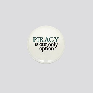 Jane Austen Piracy Mini Button