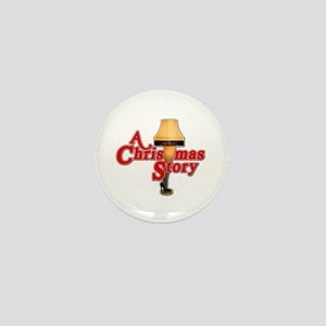A Christmas Story Movie Lamp Mini Button