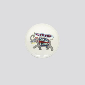 Donald Trump 2016 Elephant President Mini Button