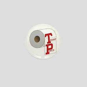 TP Toilet Paper Trump Pence Mini Button