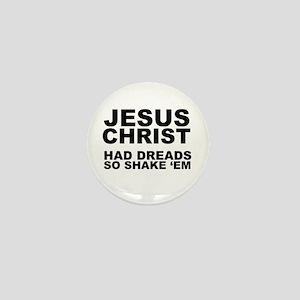 Jesus had Dreads Mini Button