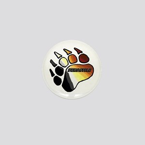 BEAR PRIDE PAW/VERSATILE Mini Button