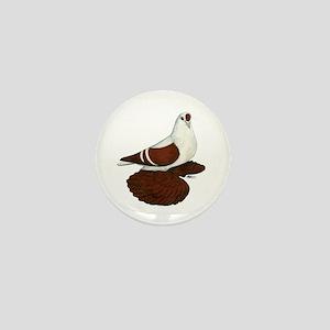 Silesian Swallow Pigeon Mini Button