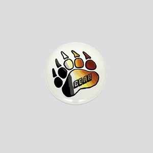 BEAR PRIDE PAW/BEAR Mini Button