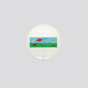 Kite Flight Mini Button