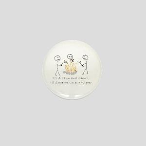 Lost Wiener Mini Button