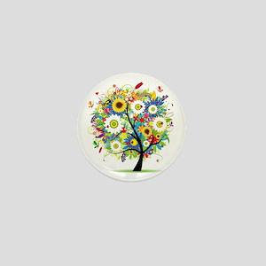 summer tree Mini Button