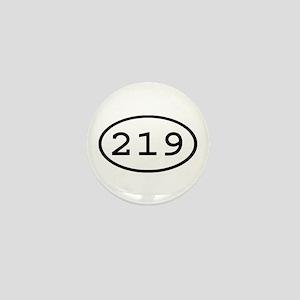 219 Oval Mini Button