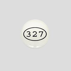 327 Oval Mini Button