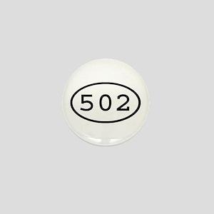 502 Oval Mini Button
