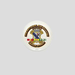 2nd Battalion, 8th Infantry Mini Button