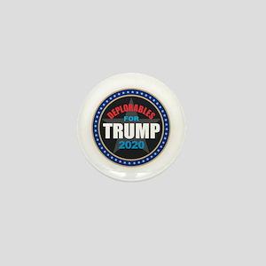 Deplorables for Trump 2020 Mini Button