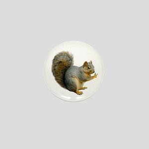 Peace Squirrel Mini Button