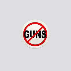 Anti / No Guns Mini Button