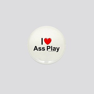 Ass Play Mini Button