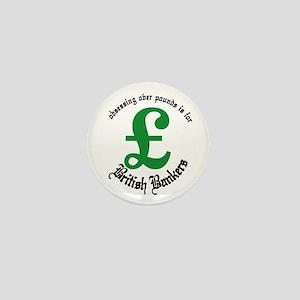 British Bankers Mini Button