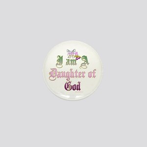 I AM A DAUGHTER OF GOD Mini Button