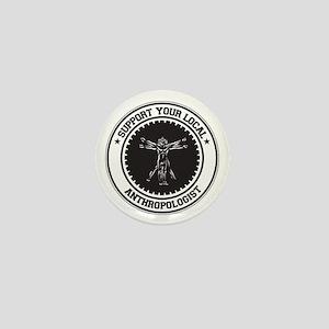 Support Anthropologist Mini Button