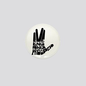 Live long and Prosper Mini Button