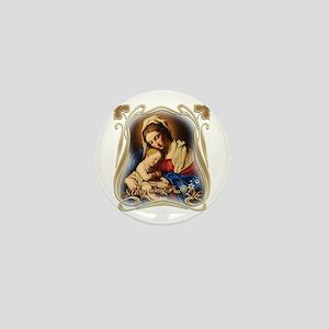 Mary was Pro-Life Mini Button