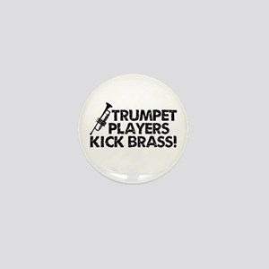 Kick Brass Mini Button