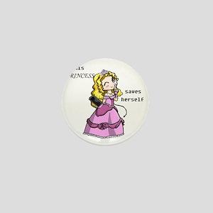 3-princess Mini Button