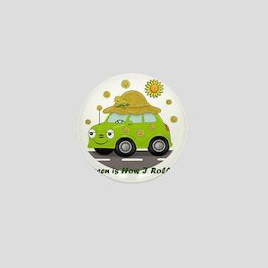 honey white Mini Button
