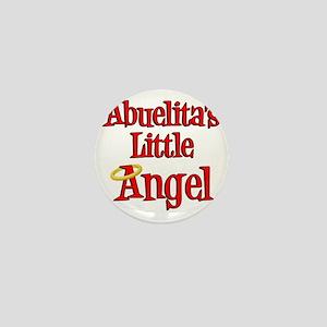 Abuelitas Little Angel Mini Button