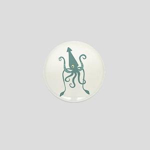 Giant Squid Mini Button