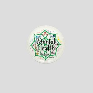 Mental-Health-Lotus Mini Button