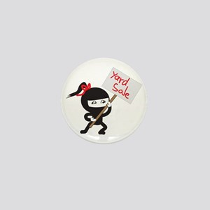 Yard Sale Ninjas Logo Mini Button