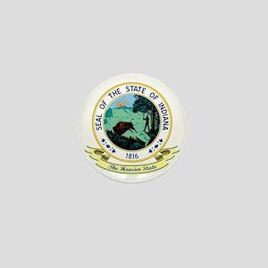 Indiana Seal Mini Button