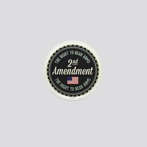 Second Amendment Mini Button